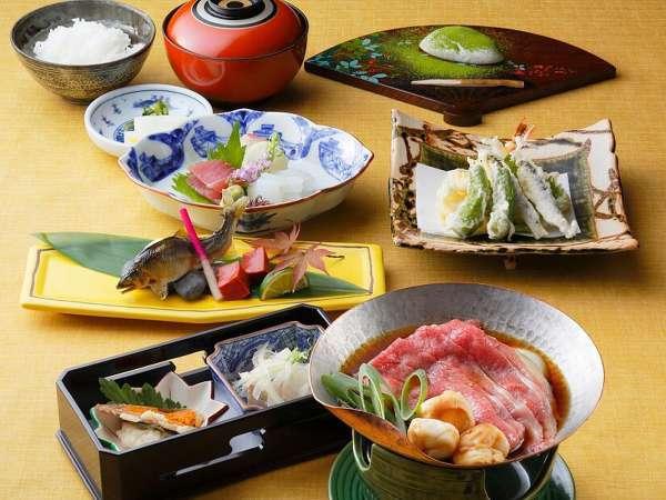 【Dinner Plan】日本料理おおみ ミニ会席「近江国」プラン 〜夕朝食付き〜