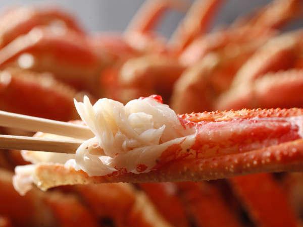 【蟹カニ食べ放題】冬の味覚がディナーバイキングに登場!〜夕朝食付き〜