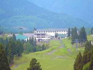 白鳥高原ホテルの外観