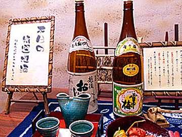 *美味しい日本酒(おやじ/740円、雪中梅/840円別途)もお食事とご一緒にどうぞ♪