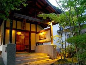 茶の心でもてなす宿 駒ノ旺山荘の外観