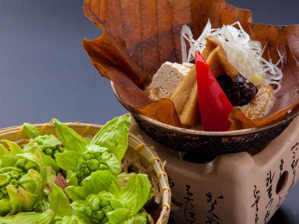 奥飛騨の爽やかな自然と共にお目覚め…朝食は飛騨の郷土料理でおもてなし【朝食付プラン】