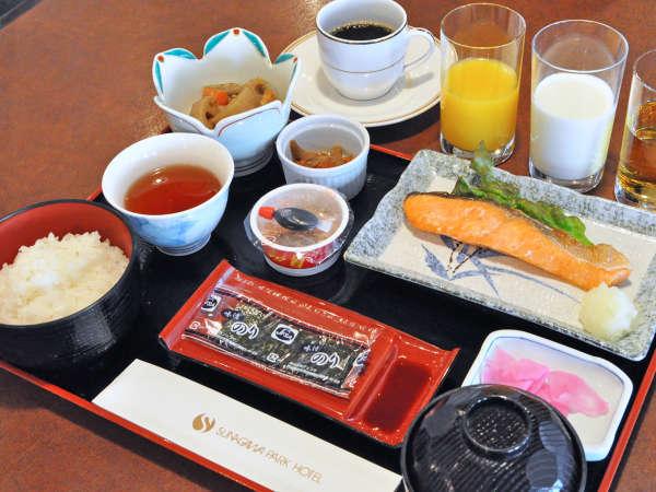 【朝食】和定食(和定食か洋定食をお選び頂けます。)