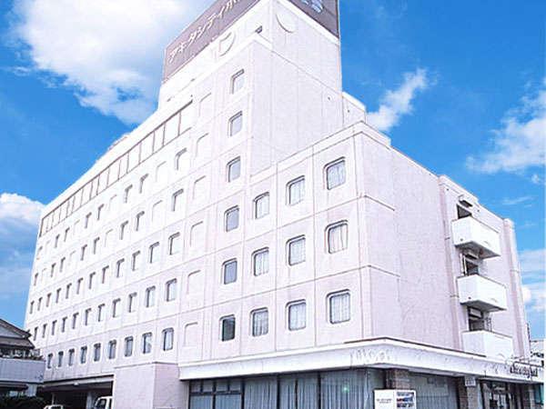 ホテルパールシティ秋田大町の外観