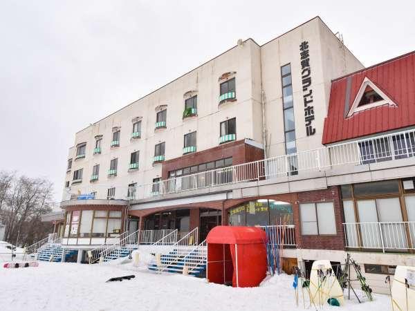 北志賀グランドホテルの外観