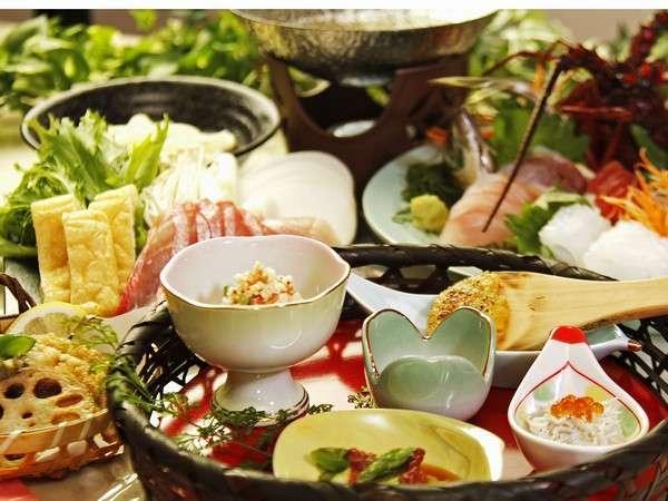 【ペットOK】伊豆の高級食材『金目鯛』・『伊勢海老』・『鮑』に舌鼓♪ペットとご一緒に伊豆グルメプラン♪