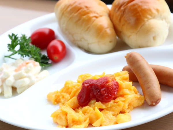 気持ちの良い朝にぴったりな洋朝食です★