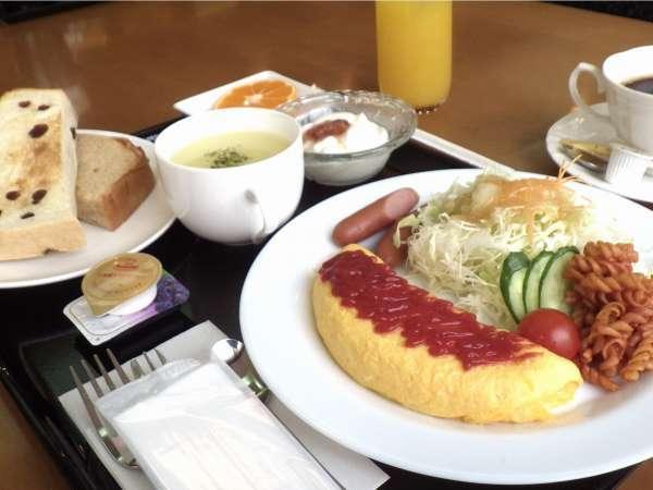 【洋食】朝食の一例です。和食もございます★