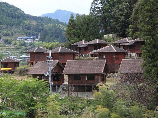 クアハウス熊野本宮 渡瀬緑の広場バンガロー