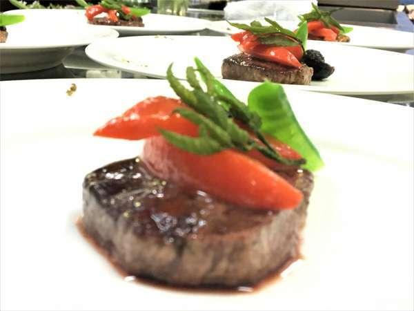 牛フィレステーキ黒トリフのソース2