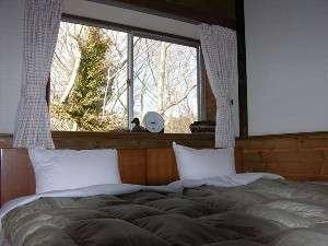 自然に溶け込んだ落ち着いた、ウッデイ風な部屋。