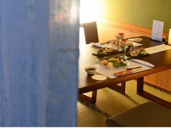 夕食 懐石料理 一例