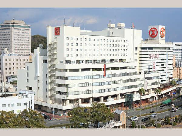 徳島東急REIホテル(2018年4月1日より:スマイルホテル徳島)の外観