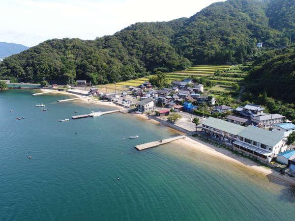 気比の松原から5分敦賀半島の海辺、美しい自然の中で日ごろのお疲れを癒してください。
