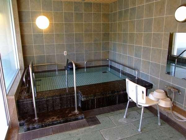 介護機能付貸切風呂  内風呂