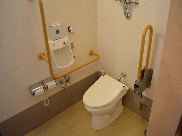 介護機能付貸切風呂 露天風呂 トイレ