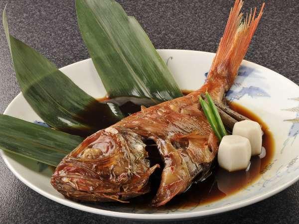 【一品料理】金目鯛の姿煮