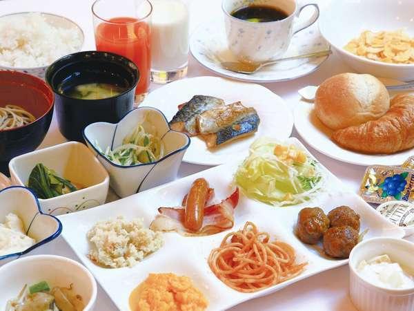 朝食バイキングメニューの一例【朝6時から召し上がれます!】