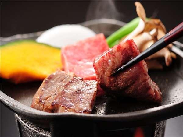 【特選】 国産牛陶板焼きたっぷりプラン <美味しいお肉をお腹いっぱい食べたい方に>