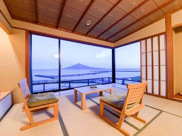 *【客室:一例】和室14畳 角部屋は広く景色を望める眺望抜群のお部屋です。