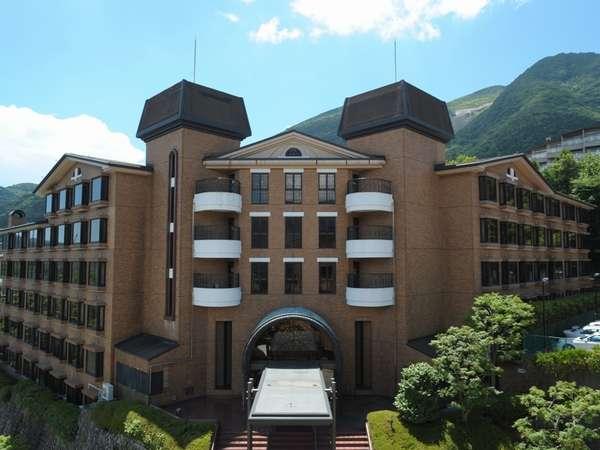 箱根の豊かな大自然に抱かれたホテル