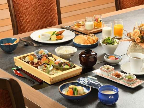【朝食】2020年11月リニューアル!和食セット・洋食セットのお好きな方をお選びいただけます。