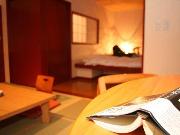 【和洋室】過ごし方は様々。ゆったり流れる時間の中に身を置いてみては。