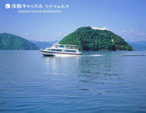 【1泊2食付き】 竹生島クルーズ 〜神の住む島〜