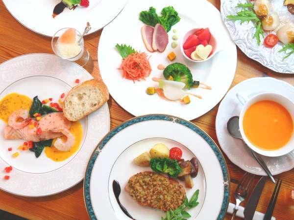 【夕食】ボリューム満点!オーナーのこだわりがつまった創作料理