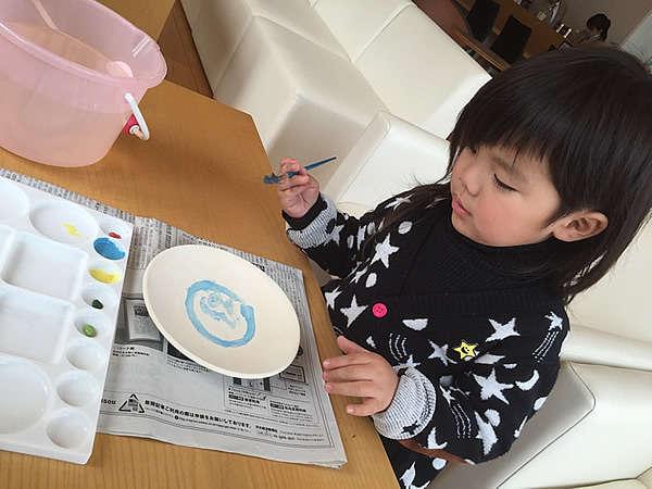 【家族旅行にオススメ】お子様特典「お皿絵付け体験」付き♪ファミリー応援プラン