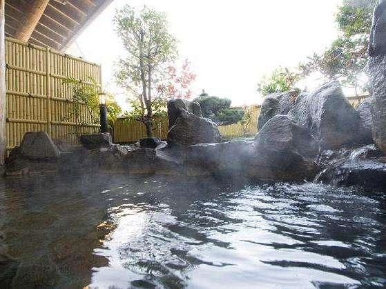 2つの露天風呂は全て貸切りでご入浴頂けます。