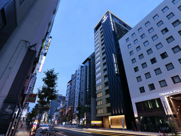 カンデオホテルズ大阪なんばの外観