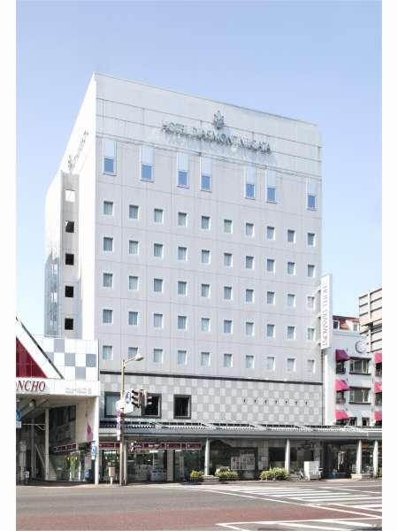 ホテルディアモント新潟の外観