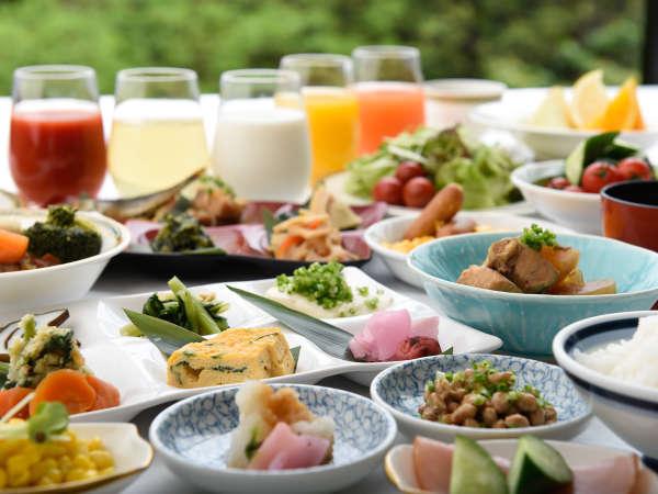 和食&洋食も豊富な品揃えがうれしい朝食バイキング※写真はイメージです