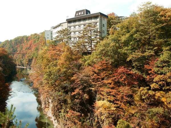 伊東園ホテル尾瀬老神 山楽荘の外観