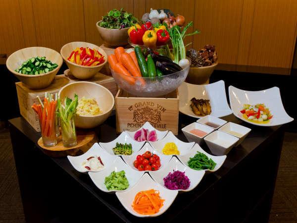自然食ビュッフェ食べ放題&飲み放題付きプラン♪【信州山ごはん・地酒】