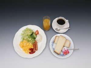 洋朝食⇒朝食は和、洋食いずれかをお選びください♪