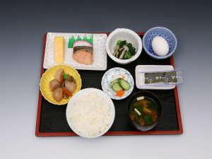 和朝食⇒朝食は和、洋食いずれかをお選びください♪