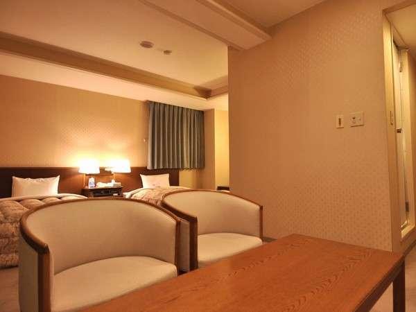 32平米のデラックスツインルーム