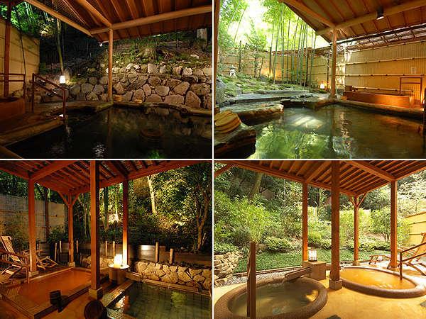 【特別な休日】貸切風呂と竹取亭創作会席料理を個室食事処で楽しむ休日