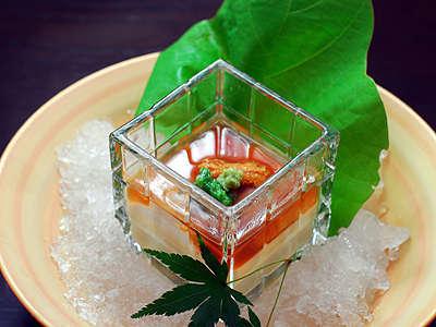 【夕食付き】旬の食材を使った創作会席料理フルコース