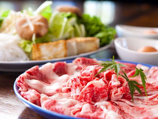 ◆【豊後牛すきやき】ご当地ブランドの豊後牛を贅沢にすき焼きで召し上がれます!