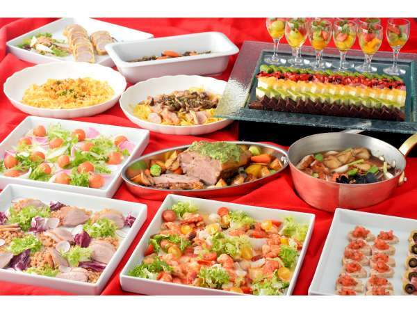 【クリスマス期間限定】豪華ディナーブッフェ&朝食 2食付プラン