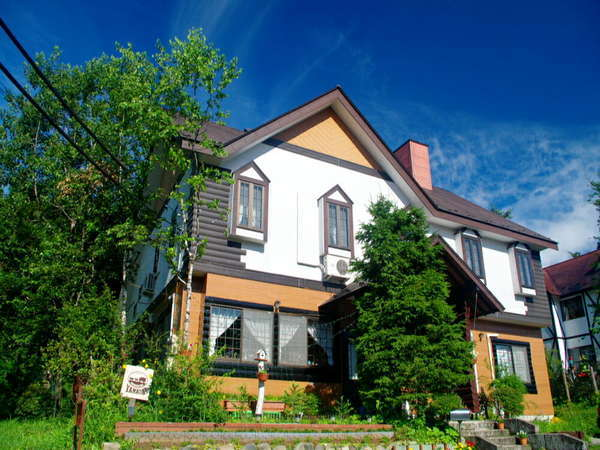 ワイルド&ネイチャーハウスYAMAの家の外観