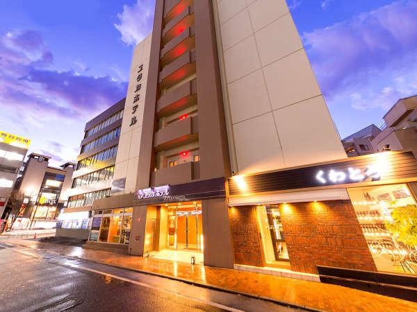 ユタカホテルの外観