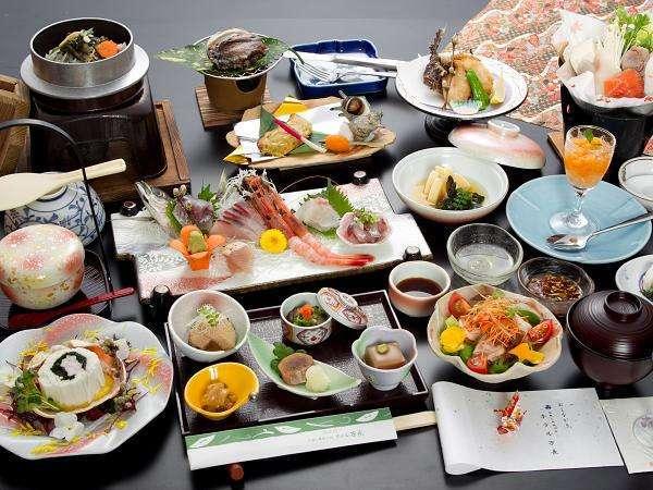 【鮑&オコゼ料理】★当館一番人気★佐渡の旬の味覚満喫プラン