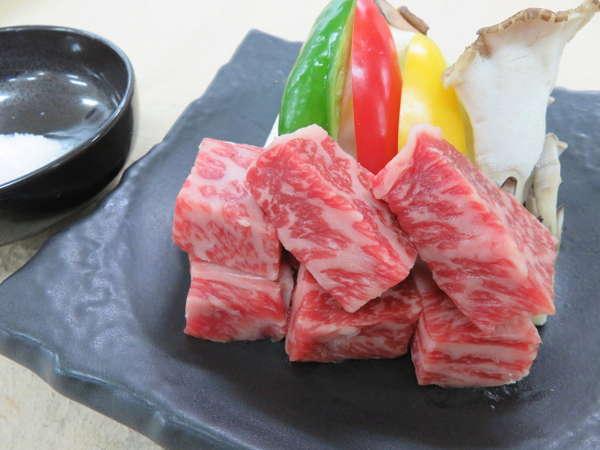 ■とろける旨味の佐渡牛を佐渡塩で味わう■希少和牛&日本海の幸満喫プラン