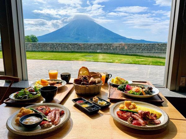【雲レストラン】羊蹄山を眺めながら朝食を