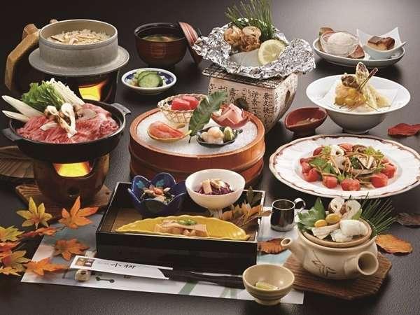 調理長推薦 究極のお料理企画 『松茸フルコース会席』