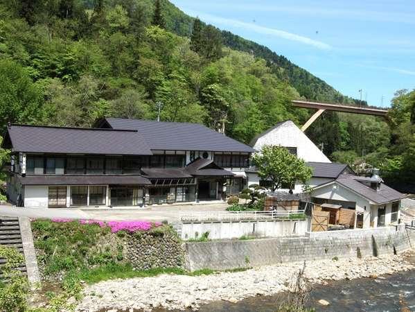 会津西山温泉 滝の湯